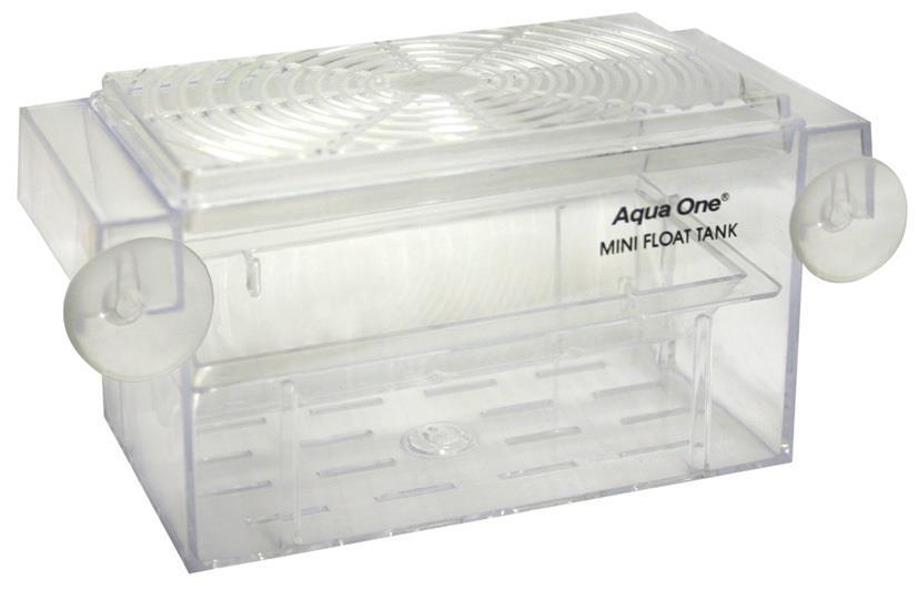 Aqua One Guppy Breeding Tank Mini Float 16 x 8 x 7.5cm