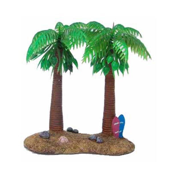 Aquatopia Hermit Crab Double Palm Tree Each