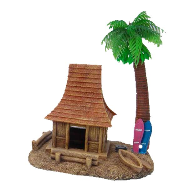 Aquatopia Hermit Crab House With Palm Tree Each