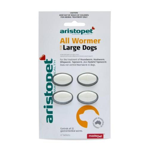 Aristopet All Wormer Large Dogs 4 pack