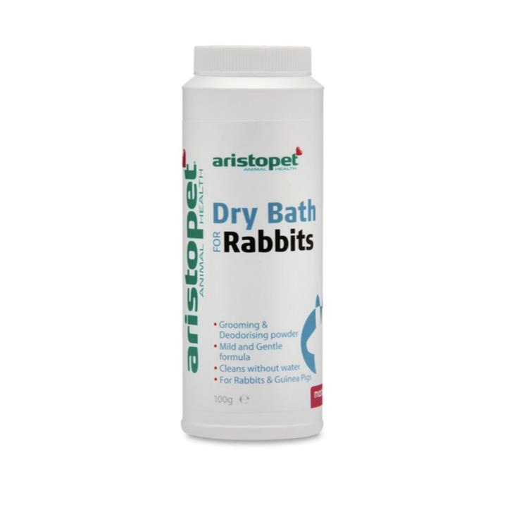 Aristopet Small Animal Rabbit Dry Bath Powder 100g