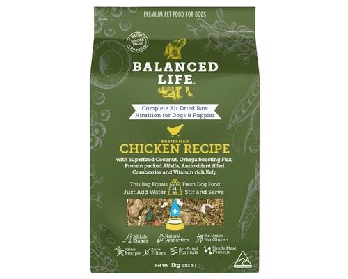 Balanced Life Chicken Dog Food 1kg