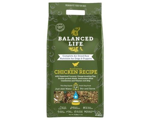 Balanced Life Chicken Dog Food 3.5kg