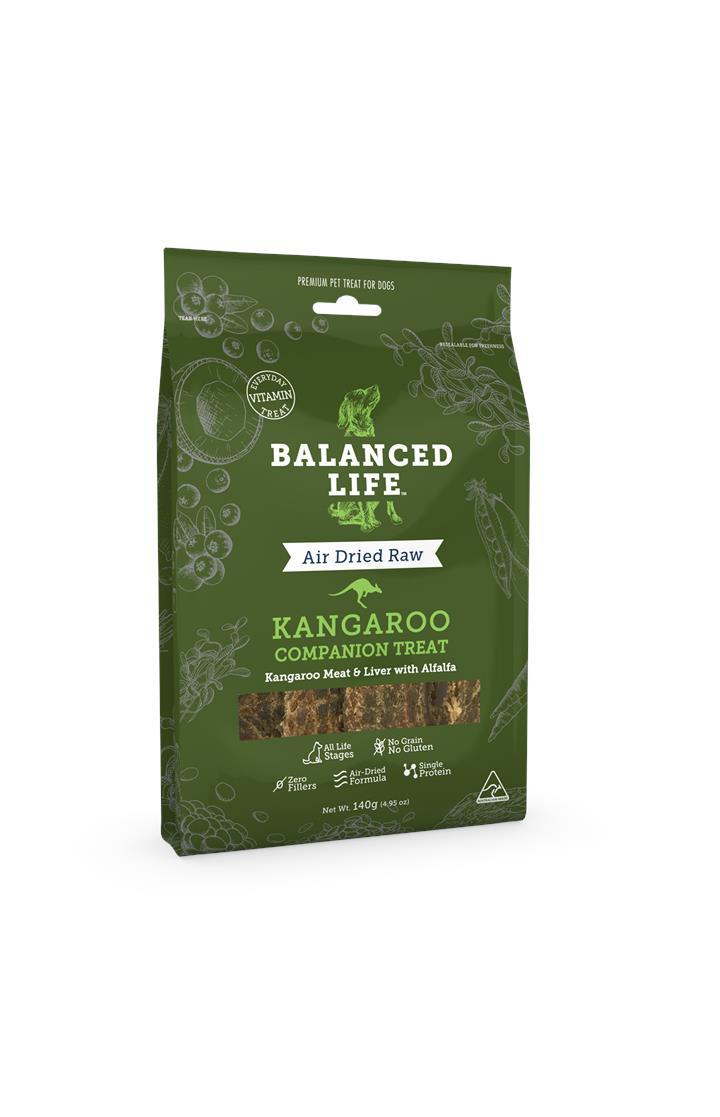 Balanced Life Dog Treat Kangaroo 140g