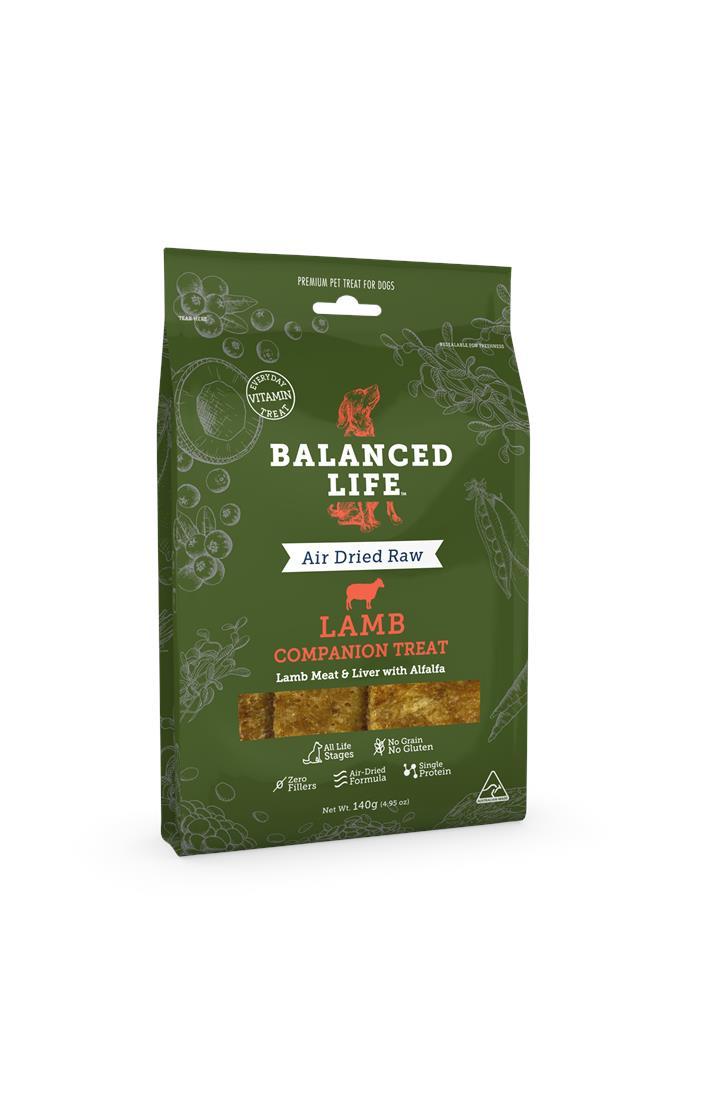 Balanced Life Dog Treat Lamb 140g