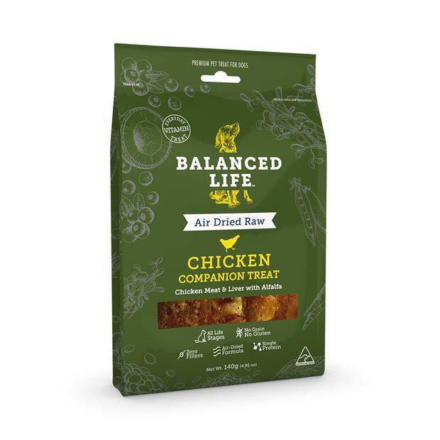 Balanced Life Dog Treats Chicken 140g