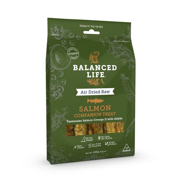 Balanced Life Dog Treats Salmon 140g