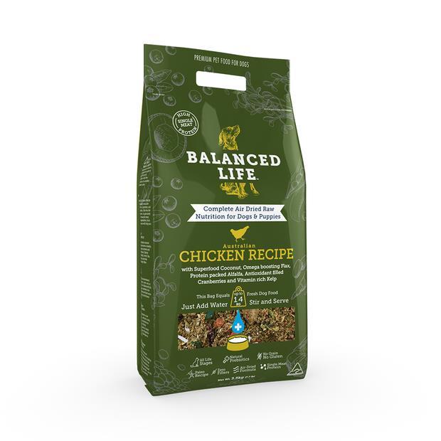 Balanced Life Dry Dog Food Chicken 1kg