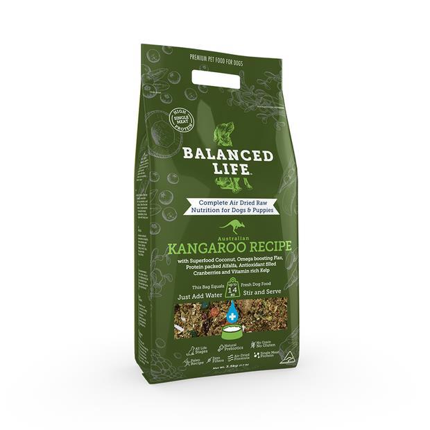 Balanced Life Dry Dog Food Kangaroo 1kg