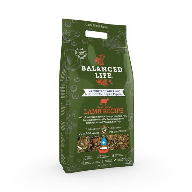 Balanced Life Dry Dog Food Lamb 3.5kg