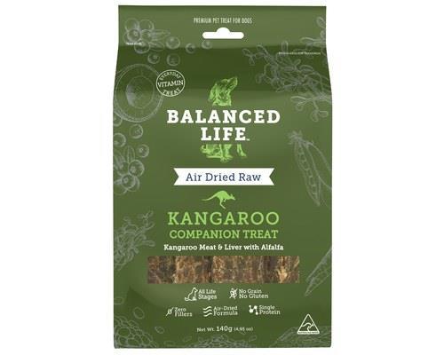 Balanced Life Kangaroo Dog Companion Treats 140g