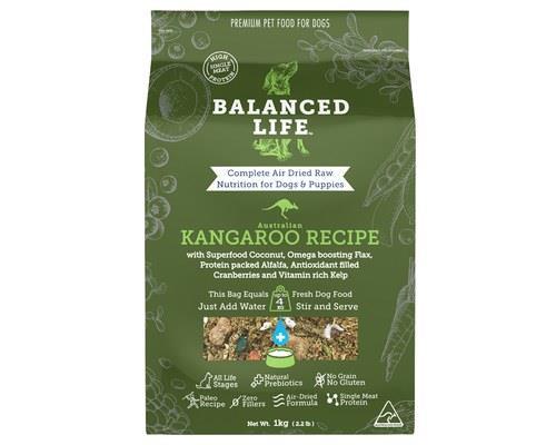 Balanced Life Kangaroo Dog Food 1kg