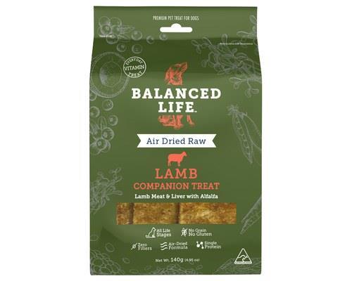 Balanced Life Lamb Dog Companion Treats 140g