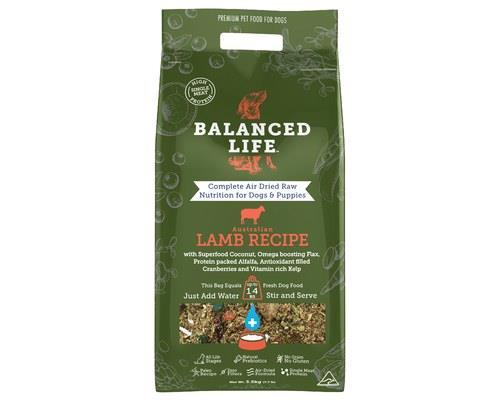 Balanced Life Lamb Dog Food 3.5kg
