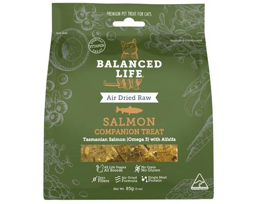 Balanced Life Salmon Cat Companion Treats 85g