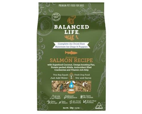 Balanced Life Salmon Dog Food 1kg