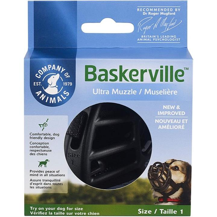 Baskerville Ultra Dog Muzzle Size 1