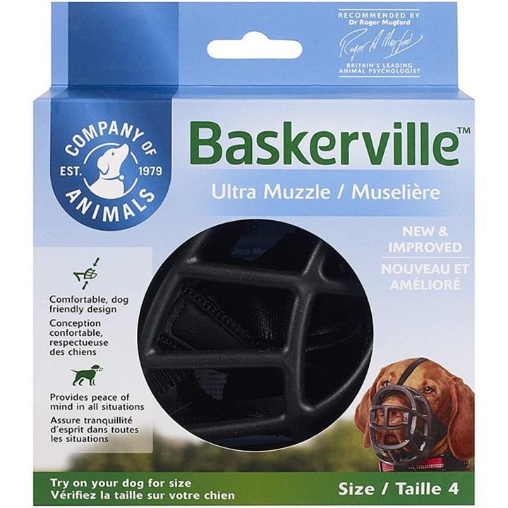 Baskerville Ultra Dog Muzzle Size 4