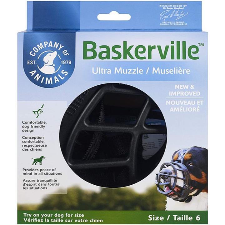 Baskerville Ultra Dog Muzzle Size 6