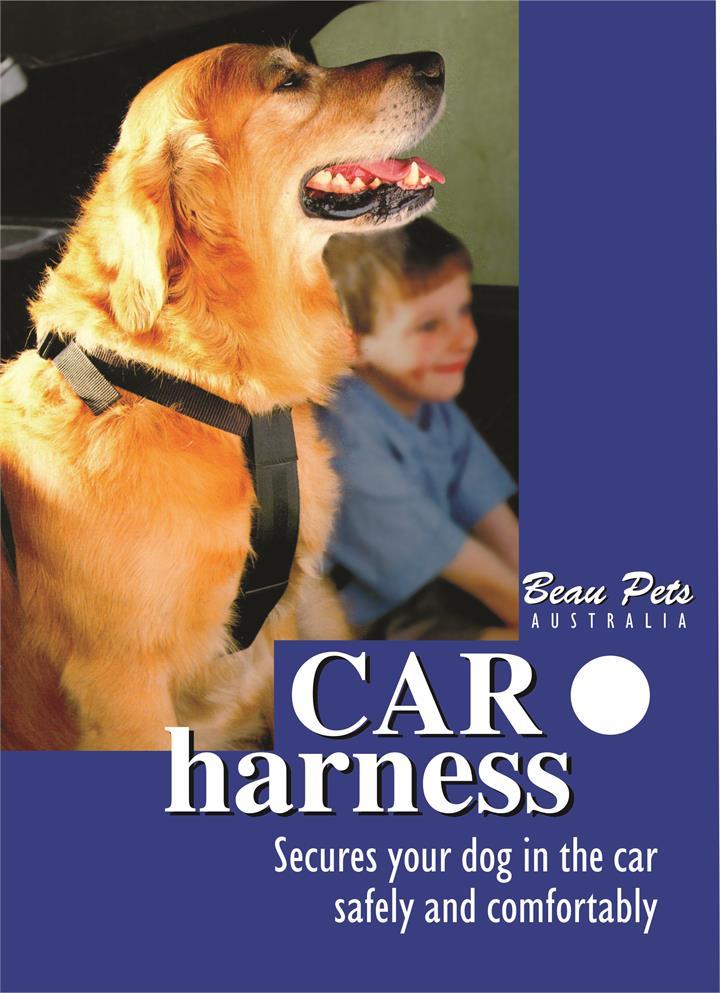 Beau Pets Car Harness Extra Large