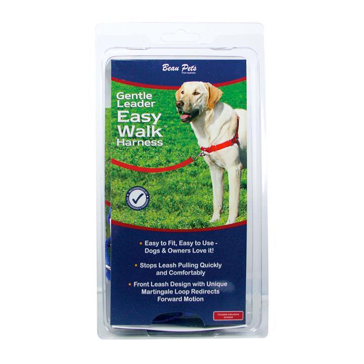 Beau Pets Gentle Leader Harness Large Blue