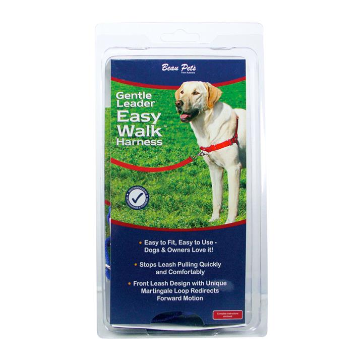 Beau Pets Gentle Leader Harness Medium Blue