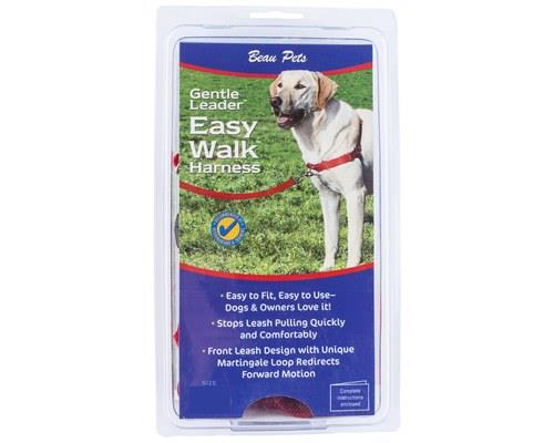 Beau Pets Gentle Leader Harness Medium Red