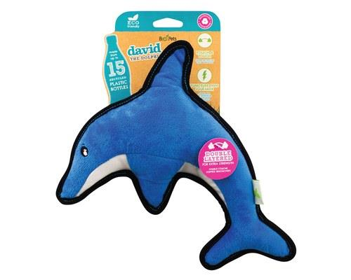 Beco Pets Rough And Tough Dolphin Medium