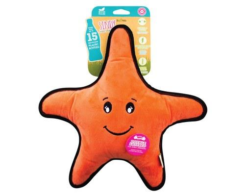 Beco Pets Rough And Tough Star Fish Large
