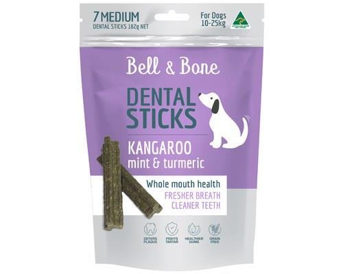 Bell And Bone Dog Treat Dental Medium 182g