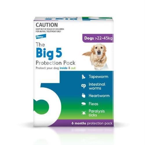 Big 5 Protection Pack Purple 22kg-45kg 6 pack