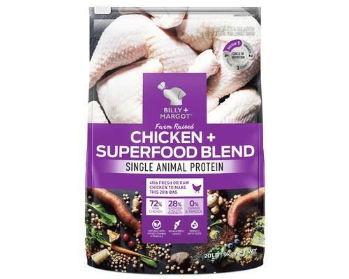 Billy And Margot Chicken Superfood Blend 9kg