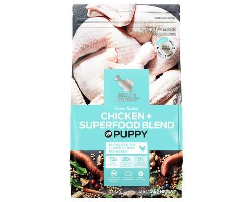 Billy And Margot Puppy Chicken Superfood Blend 1.8kg
