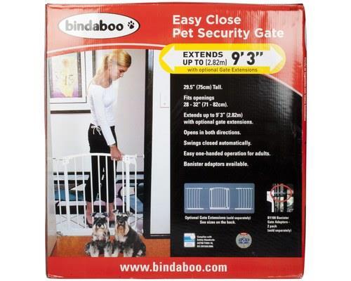 Bindaboo Security Gate White