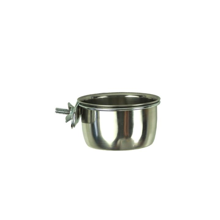 Birdie Nibbler Steel Coop Cup with Clamp 1.89L