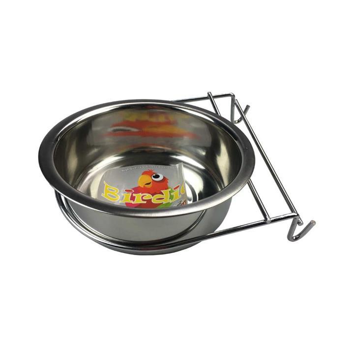 Birdie Nibbler Steel Coop Cup with Hanger 887ml