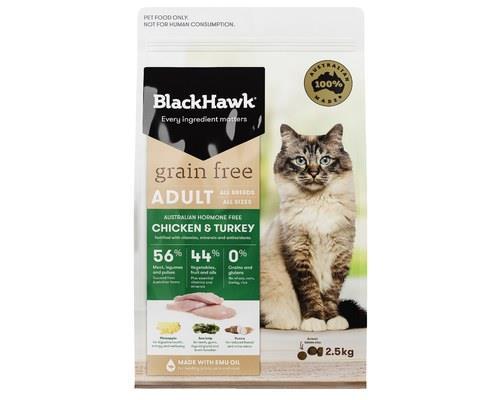 Black Hawk Cat Grain Free Chicken & Turkey 2.5kg