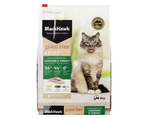 Black Hawk Cat Grain Free Chicken & Turkey 6kg