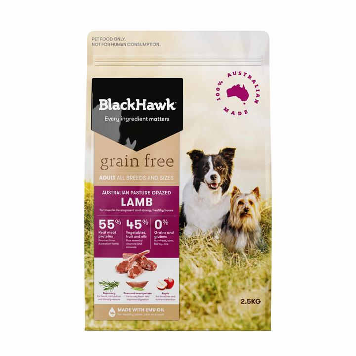 Black Hawk Dog Grain Free Lamb