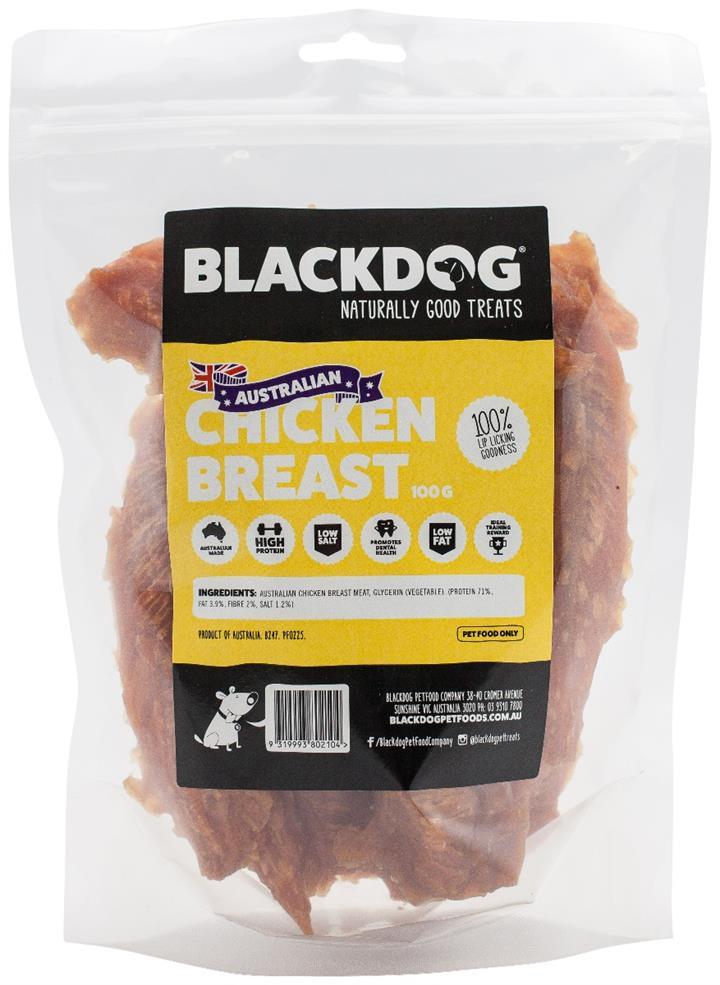 Blackdog Australian Chicken Breast 100g