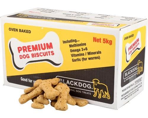 Blackdog Biscuit Peanut Butter 5kg