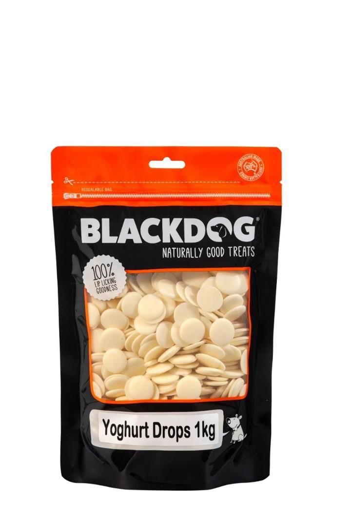 Blackdog Yoghurt Drops Dog Treats 1kg