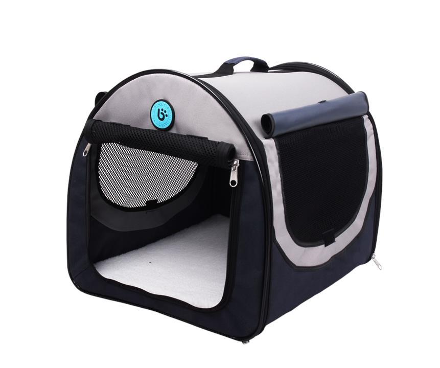Bono Fido Portable Pet Home Carrier Soft Crate Medium