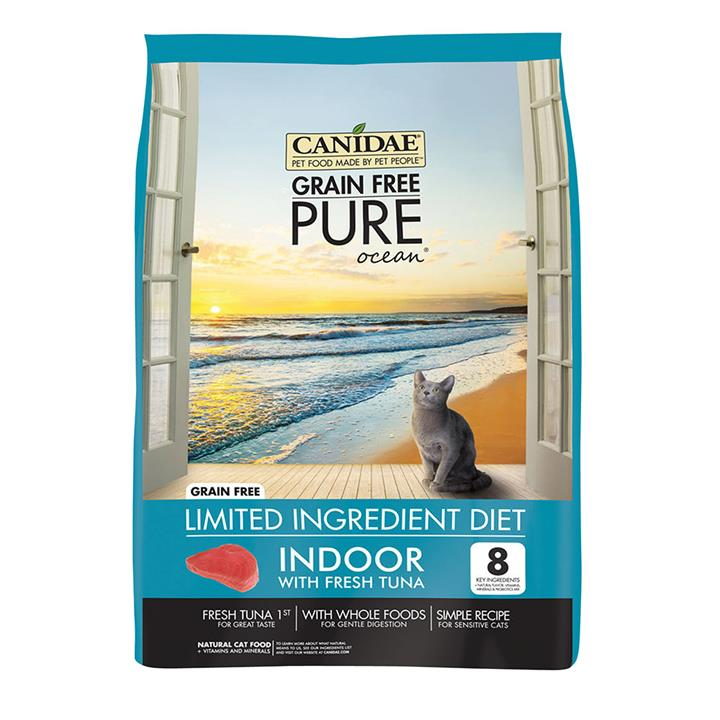 CANIDAE® Grain Free PURE Ocean Indoor Dry Cat Food with Tuna 2.27kg