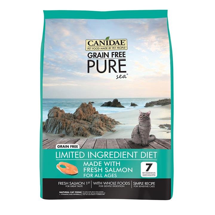 CANIDAE® Grain Free PURE Sea with Salmon All Ages Dry Cat Food 4.54kg