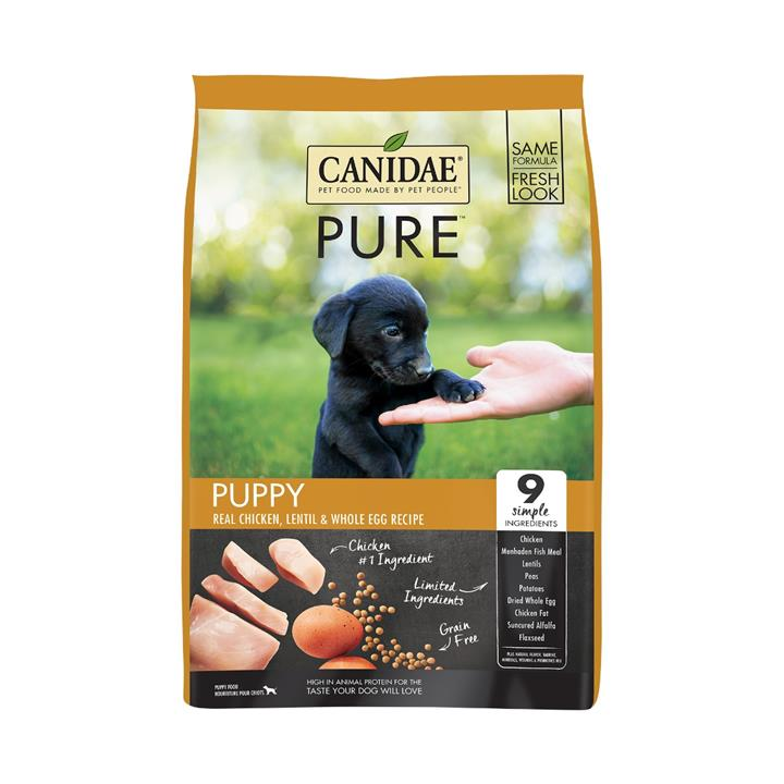 CANIDAE® PURE Puppy Real Chicken Lentil Grain Free Dry Dog Food 10.8kg