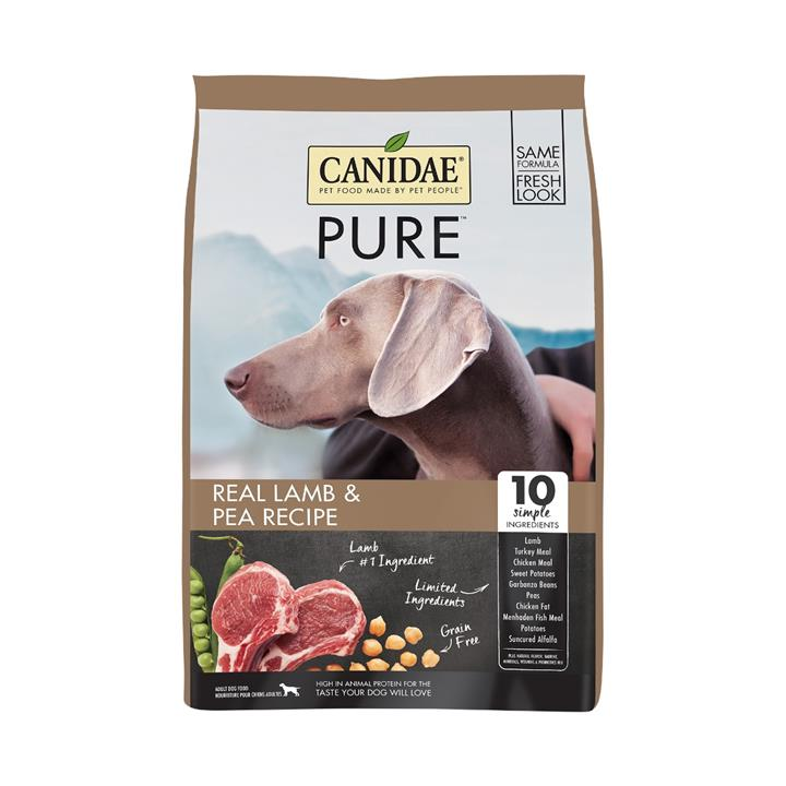 CANIDAE® PURE Real Lamb & Pea Recipe Grain Free Dry Dog Food 10.8kg