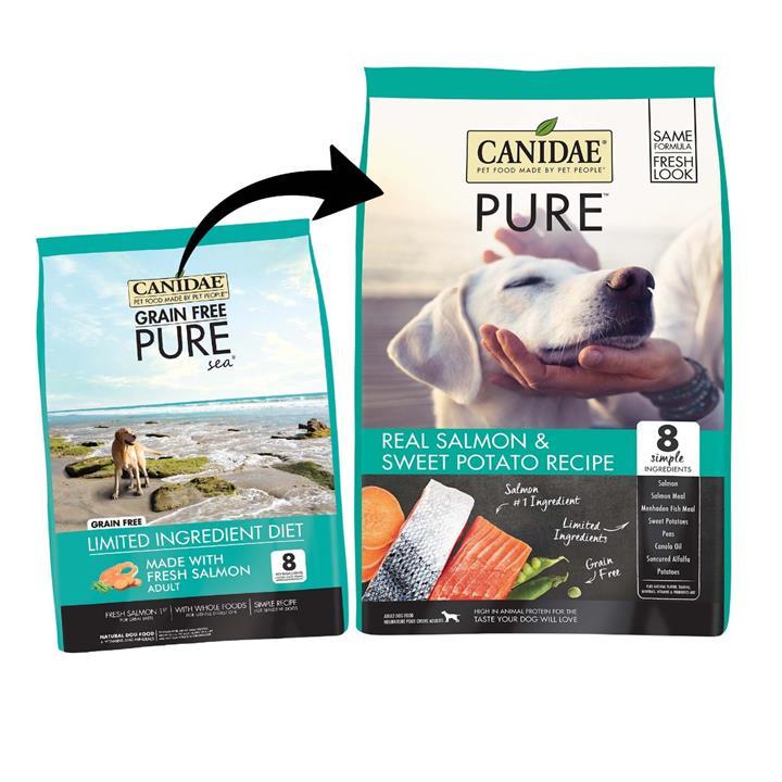 CANIDAE® PURE Real Salmon & Sweet Potato Grain Free Dry Dog Food