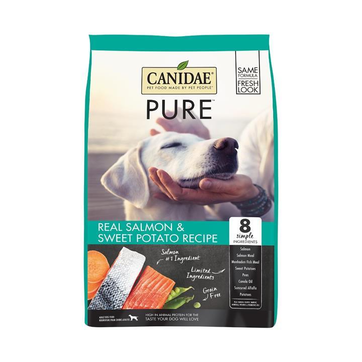 CANIDAE® PURE Real Salmon & Sweet Potato Grain Free Dry Dog Food 10.8kg