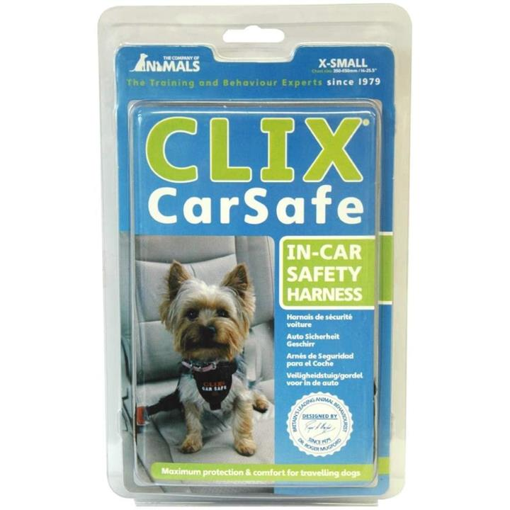 COA Clix Car Safe In Car Safety Dog Harness Extra Small